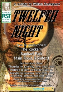 RST Twelfth Night poster and flyer.indd