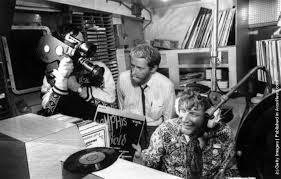 DJ Robbie Dale was filmed aboard Radio Caroline in 1967 with