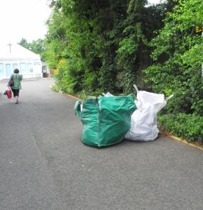 Garden rubbish Haysoms Close May 16 (2)
