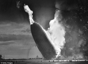 Getty exploding airship