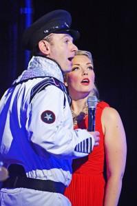 Sarah Scowen with Sean Needham