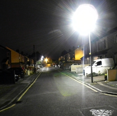 Street lighting but not as we want it - Jim!