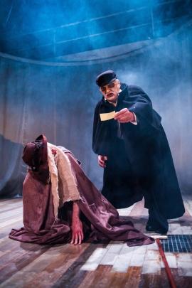 Tom Cornish as Joseph Merrick and  Stuart Organ